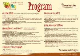 BD 2015 program