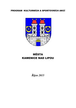 stáhnout ve formátu PDF zde - Kultura Kamenice nad Lipou