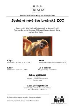 Společná návštěva brněnské ZOO