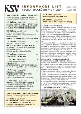 Informační list č. 72