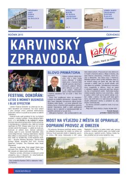 Karvinský zpravodaj 7/2015