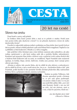 Duben - Římskokatolická farnost Opava