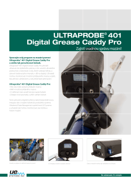 ULTRAPROBE® 401 Digital Grease Caddy Pro