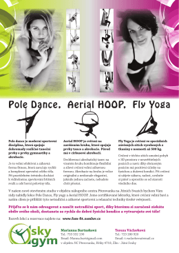 Pole Dance, Aerial HOOP, Fly Yoga
