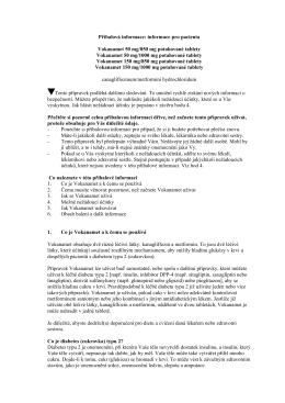 Příbalová informace: informace pro pacienta Vokanamet