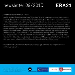 newsletter 09/2015