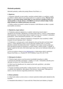 Klikněte pro zobrazení obchodních podmínek ve formátu pdf