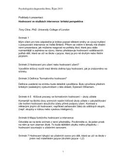 Handout příspěvku v českém jazyce ke stažení