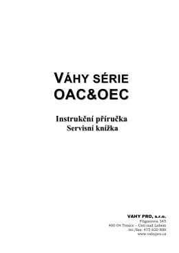 OAC&OEC - uwe.cz