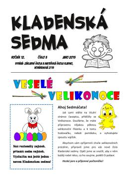 3. číslo časopisu - ZŠ Vodárenská 2115