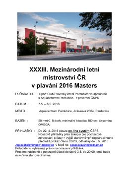M-ČR masters