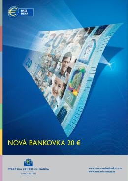 Seznamte se s novou bankovkou 20 - ECB