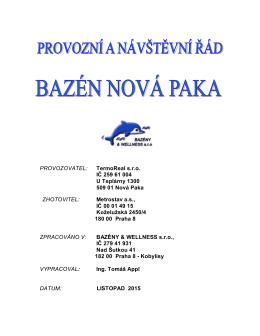 PŘ Nová Paka - Sportovně regenerační centrum 3