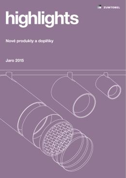 Nové produkty a doplňky Jaro 2015
