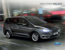 NOVÝ FORD GALAXY