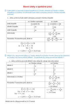 0 Slovní úlohy o společné práci - Gkvr-ms2