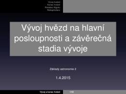 přednáška 6 - T. Jeřábková