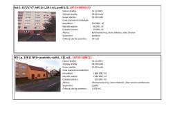 (1 NP) + pozemky + přísl., 311 m2, 197 EX 3288/1