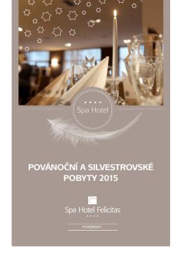 KE STAŽENÍ Povánoční a silvestrovský ceník 2015 PDF
