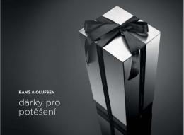 katalog dárků Bang & Olufsen