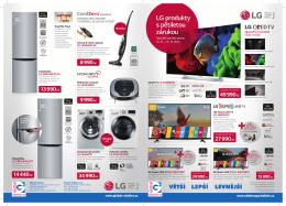 LG produkty s pětiletou zárukou