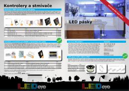 katalogový list- LED pásky