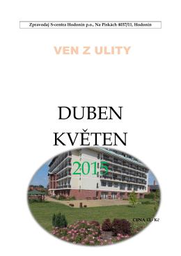 DUBEN KVĚTEN 2015