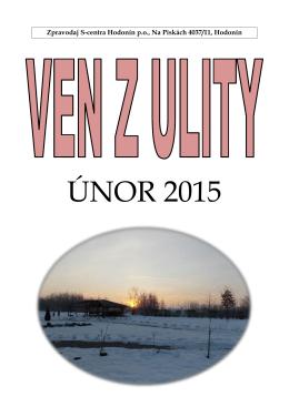 ÚNOR 2015 - centrum Hodonín