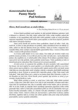 prosinec 2015 - Řád maltézských rytířů