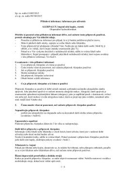 Alerpalux - Příbalová informace