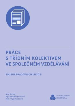 Soubor pracovních listů II. - Univerzita Palackého v Olomouci