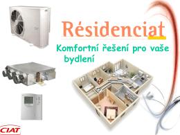 Klimatizační zařízení CIAT