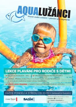 KAŽDÉ PONDĚLÍ A STŘEDU OD 10–13 h (relaxační bazén)