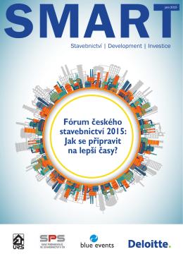 Fórum českého stavebnictví 2015: Jak se připravit na lepší