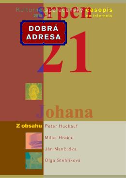 DA 08/2015 - Dobrá adresa