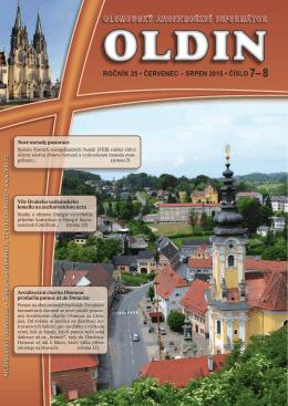 srpen 2015 • číslo 7–8 olomoucký arcidiecézní informátor