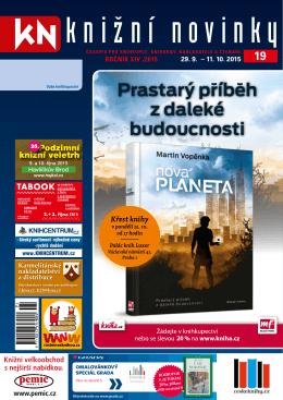Knižní novinky č. 19/2015 - Svaz českých knihkupců a nakladatelů