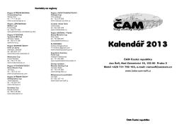 Kalendář 2013_2.indd - amk