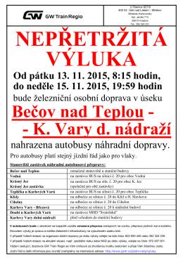 Karlovy Vary d.n. 13.11.