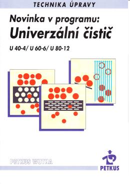 Přehled typů – U 40–4 / U 60–6 / U 80–12