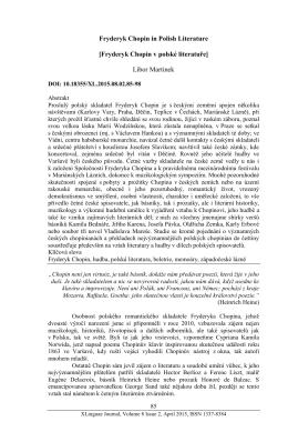 Fryderyk Chopin v polské literatuře
