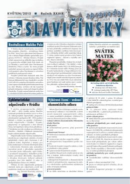 Slavičínský zpravodaj 5/2015