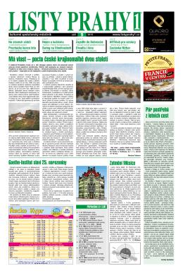 číslo 9 - Listy Prahy 1