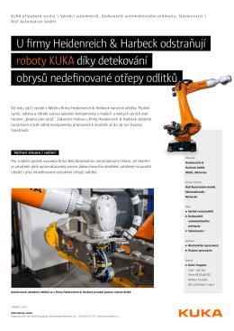 U firmy Heidenreich & Harbeck odstraňují roboty