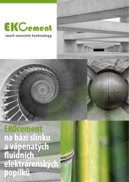 Leták EKO cement