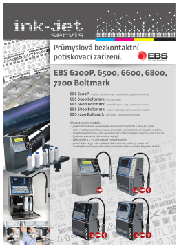 EBS 6200 / 6500 / 6600 / 7200 – Boltmark