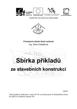 Sbírka příkladů ze stavebních konstrukcí