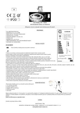 PDF Návod k použití - GLOBAL Export