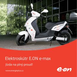 Elektroskútr E.ON e-max
