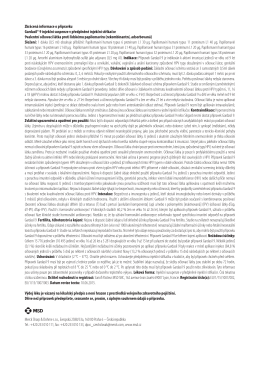 Zkrácená informace o přípravku Gardasil® 9 injekční